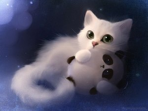 cat-with-panda-toy