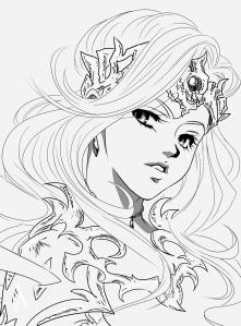 Queen Daniar Dragonkin